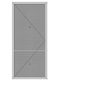 Plissee XL   schwellenlos   für Fenster  (Kettenmechanismus)