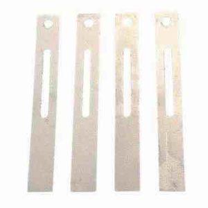 Verstärkte Bänder aus Metall für Fliegengittertüren