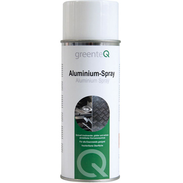 Aluminium Spray- greenteQ, 400ml