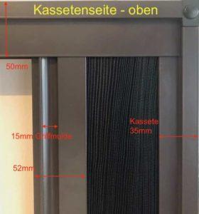 Insektenschutzplissee für Fenster und Türen KS 1