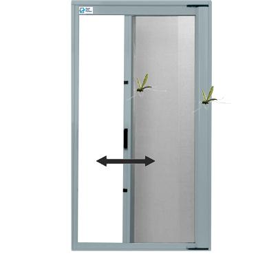 Insektenschutzrollo-horizontal für Türen