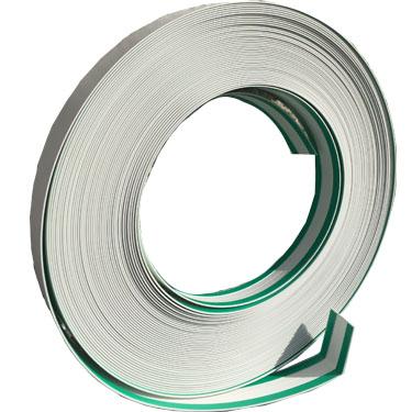 PVC Winkel Rolle, 2 Klebestreifen