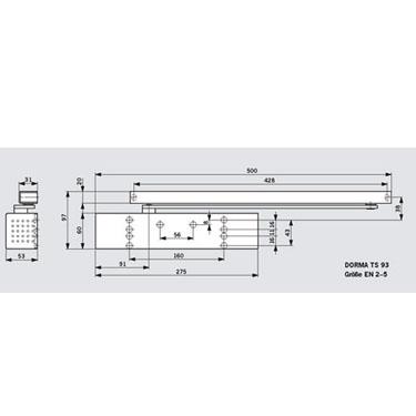 Türschließer-Dorma TS93