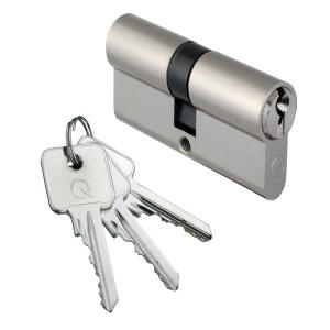 Profil-Doppelzylinder mit 3 Schlüssel