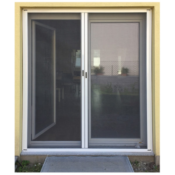 Insektenschutzrollo-horizontal für Doppeltüren