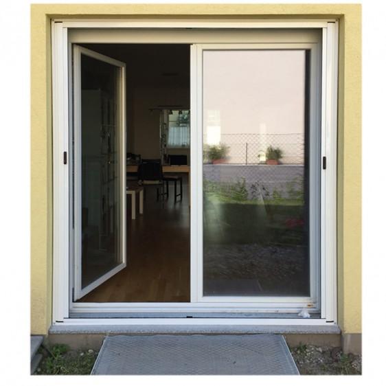 insektenschutzrollo horizontal f r doppelt ren und fenster rund ums fenster. Black Bedroom Furniture Sets. Home Design Ideas