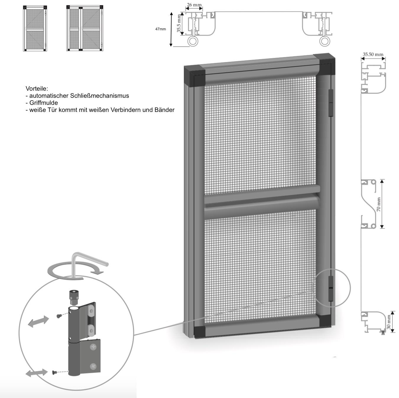 haustr rc3 galerie von aluminium haustr alu tr haustren. Black Bedroom Furniture Sets. Home Design Ideas