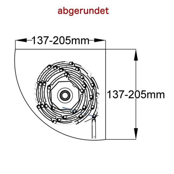 Rollladen-Vorsatz, Aluminium