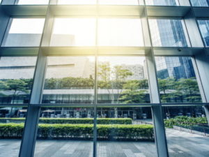 PVC Fenster- und Tür-Rahmen mit Reflex-Glas