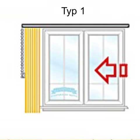 Lamellenvorhang - vertikal