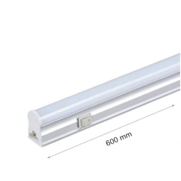 8W/10W/14W LED RÖHRE T5 MIT GEHÄUSE 60/90/120cm - 230V - MAT - kaltweiß/neutralweiß