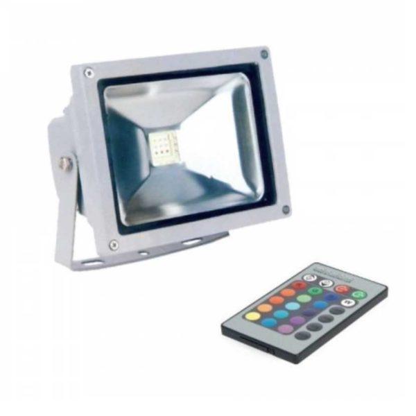 LED Scheinwerfer/ FLUTER RGB DIMMBAR UND FERNGESTEUERT (10W, 20W, 30W, 50W)