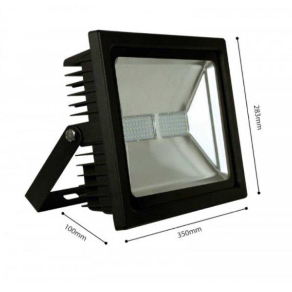 LED Scheinwerfer/ FLUTER SMD IP65 SCHWARZ - PREMIUM - 5 JAHRE GARANTIE (30W, 50W, 100W)