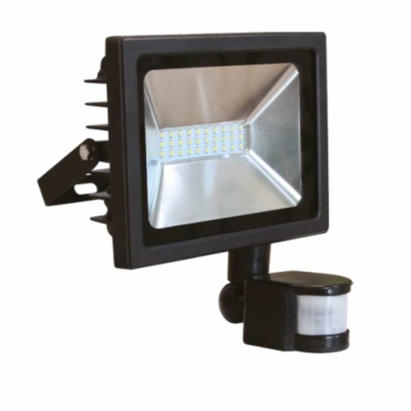LED SMD Scheinwerfer/ FLUTER MIT BEWEGUNGSMELDER - PREMIUM - 3 JAHRE GARANTIE - KALTWEISS (30W, 50W)