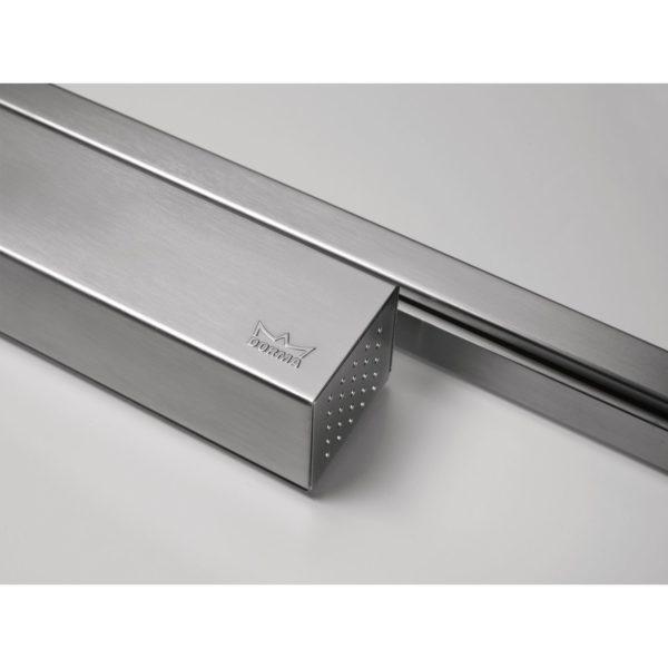 Türschließer DORMA TS 93B GSR-EMF1-V, EN 2-5, 2-flg. m. Gleitschiene, silber
