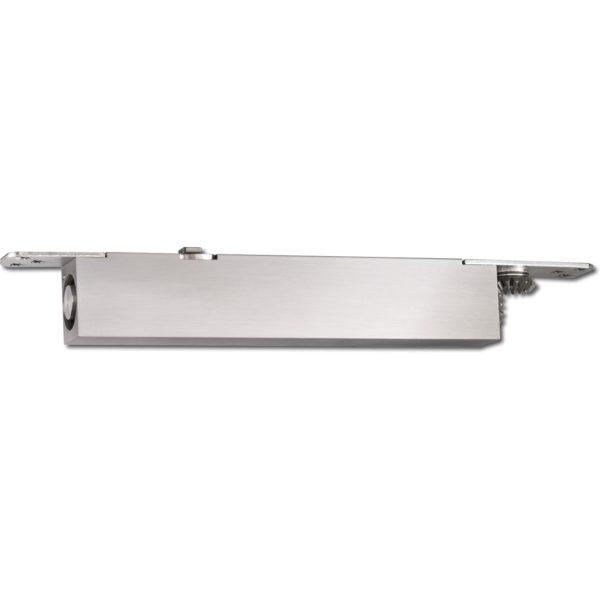 Türschließer integriert GEZE BOXER, Achse 4 mm verlängert, silberfärbig