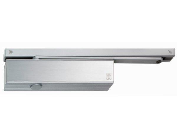 Türschließer ECO TS 61 GSB, EN 2-5, 1-flg. mit Gleitschiene, silber