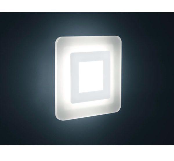 Wand- Deckenleuchte Quadrat