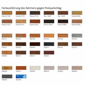 Farbauswahl Insektenschutz Spannrahmen Fensterlichte