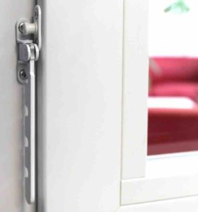 Fensterfeststeller Siegenia Zuschlagschutz Fensterriegel 1