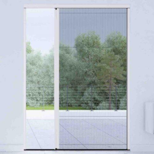 Insektenschutzplissee für Fenster und Türen