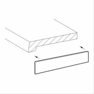 Laminatstreifen für Innenfensterbänke