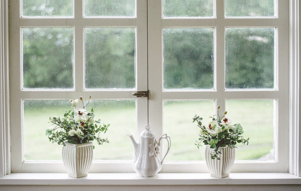 Originelle Hausideen rund um die Fensterbänke
