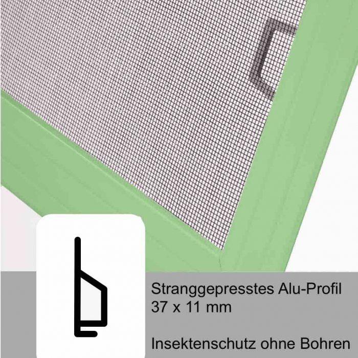 C11_Insektenschutz_Schnitt_Fliegengitter_Spannrahmen Fix