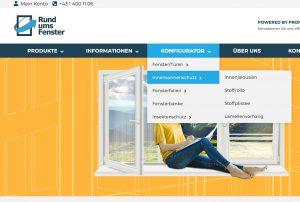 Inennsonnenschutz Online Konfigurator Tutorial