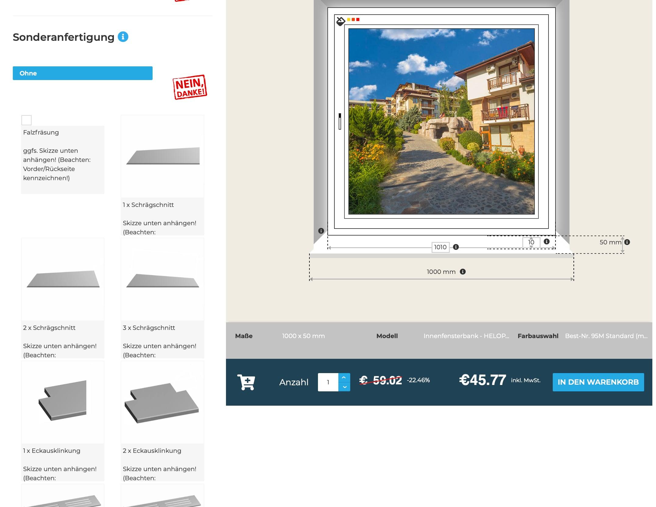 Innenfensterbänke-Online-Konfigurator-Sonderanfertigung